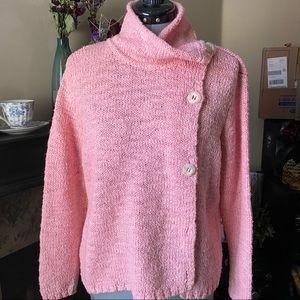 Talbots Pink Wool Sweater